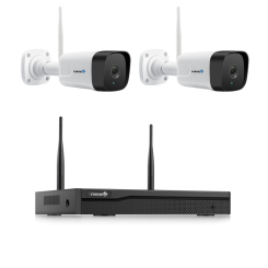 Fortress My Sight Wi-Fi 1080P HD Security 2 Camera System with NVR