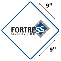 Fortress Yard Sign (Weather Resistant Polyethylene Plastic)